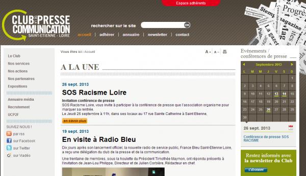 Club de la Presse et de la Communication de Saint-Etienne et de la Loire
