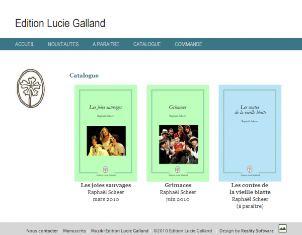 Éditions Lucie Galland