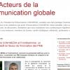 Les Acteurs de la communication globale